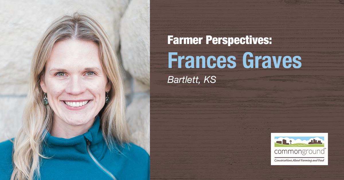 CommonGround Kansas Volunteer Frances Graves