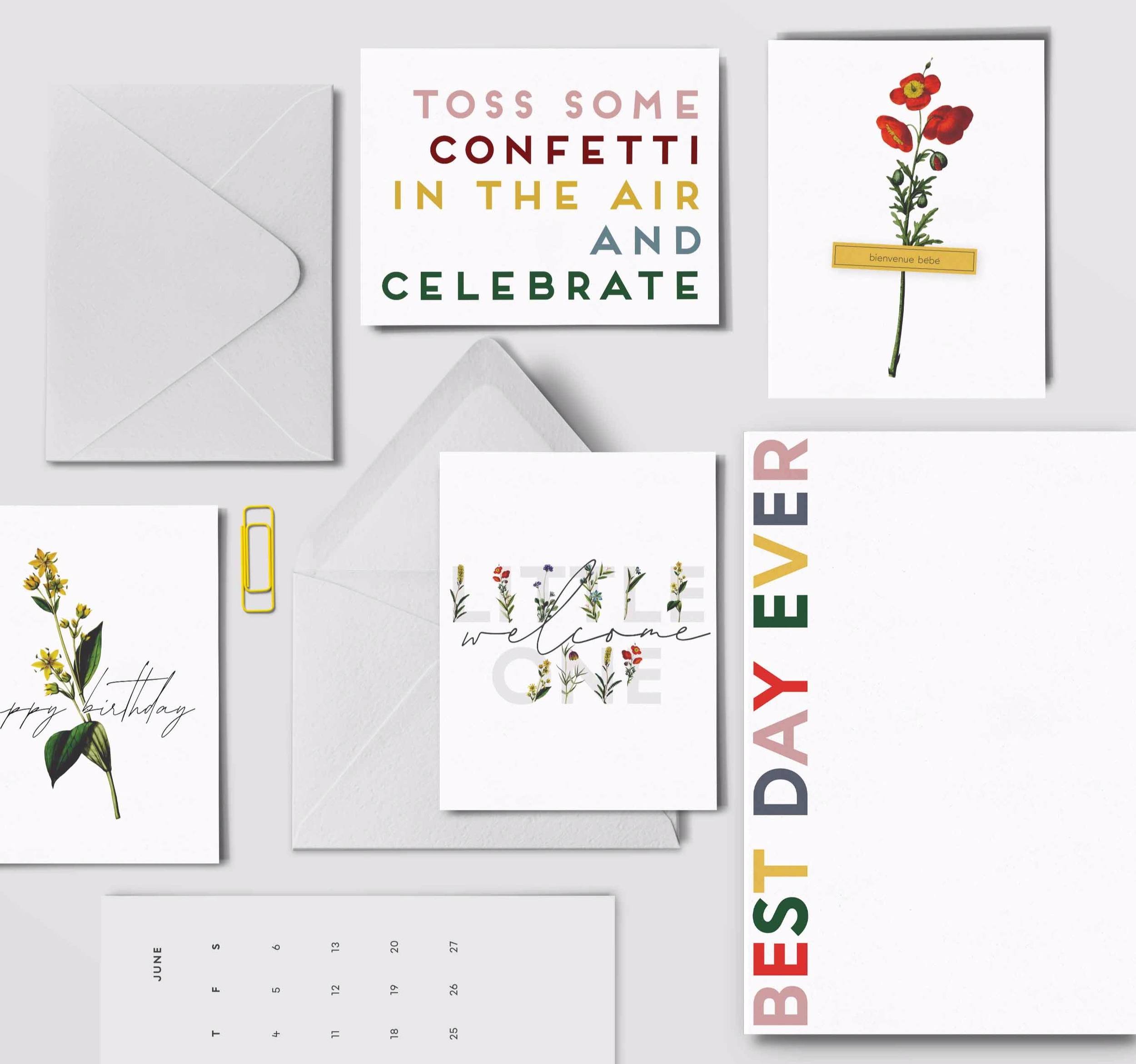 NOTEPADS & CALENDARS, OH MY! - Whether it's a gift for your best friend's wedding, a wall calendar with every color imaginable, or a weekly planner to keep you on schedule. We've got you covered!