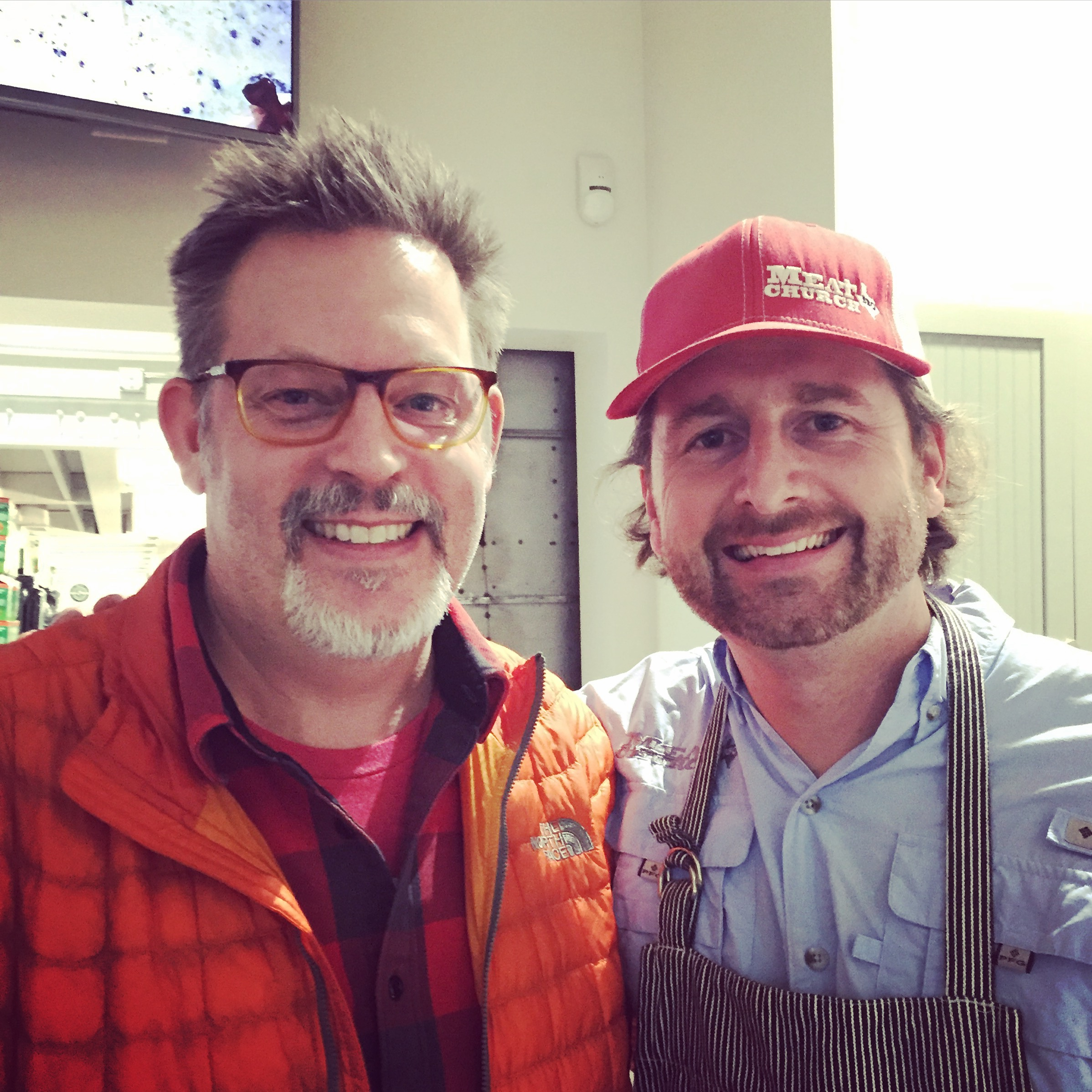 With Matt Pittman of Meat Church BBQ