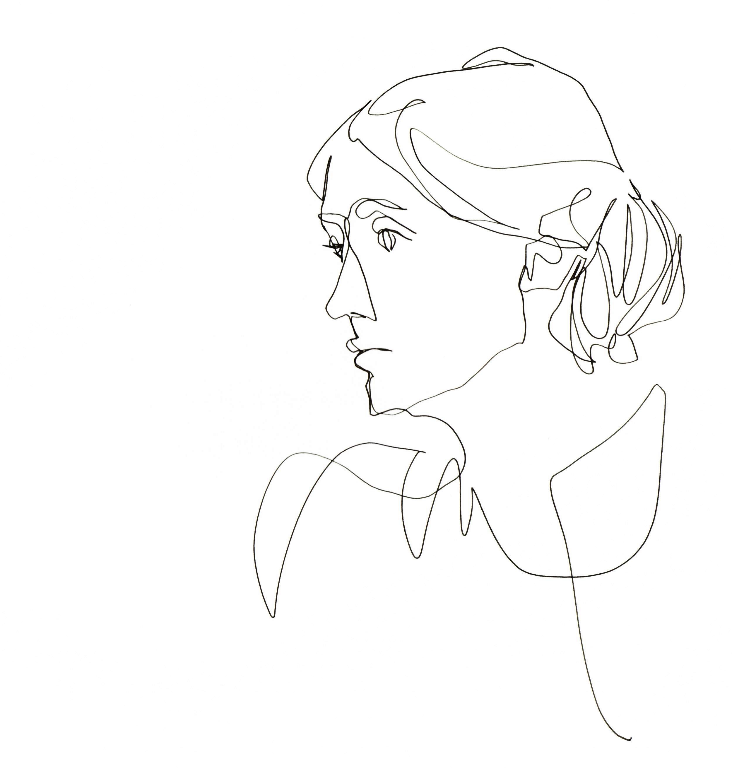 1_Image_Single Continuous Line_Virginia Woolf_©TamarLevi 148.jpg