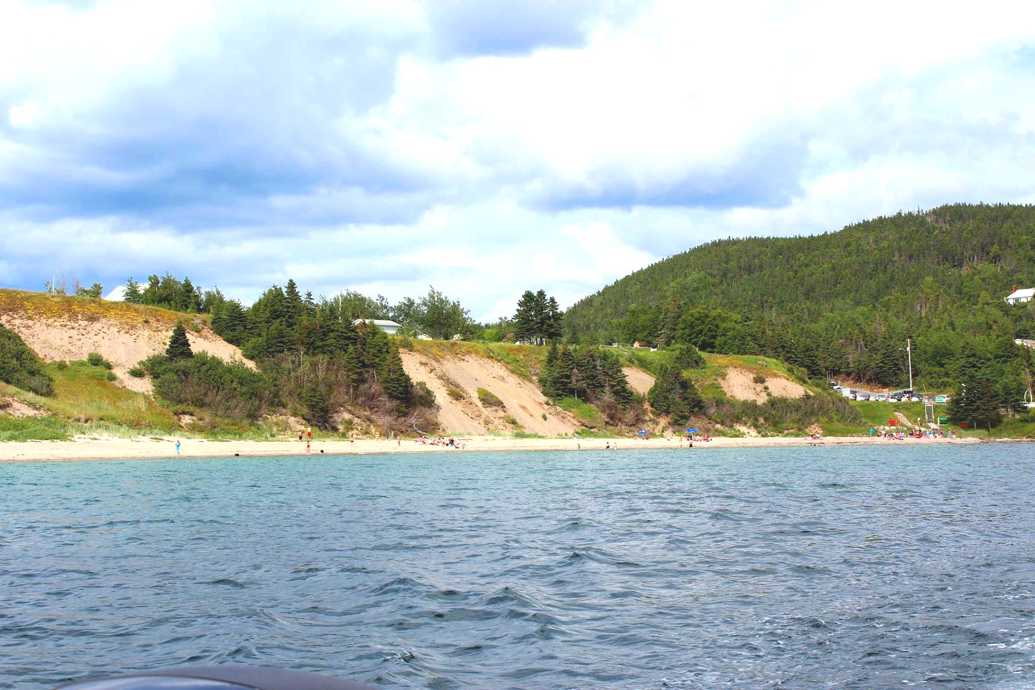 Sandy Cove Beach, Eastport Peninsula.