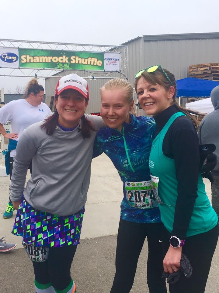 Kimberly simmons, Makenzie Patten, Michelle Heart - Shamrock Shuffle