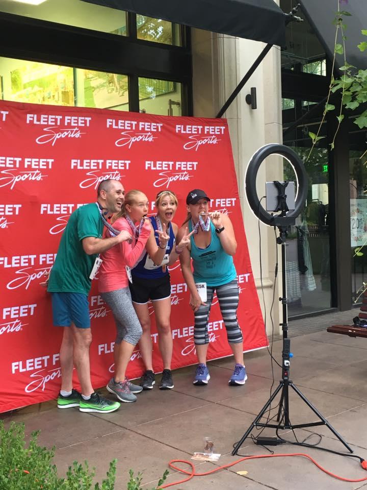 Steven Reid, MACKENZIE Patten, Michelle Heart, Jillian Cobler - Village on the Run 5K