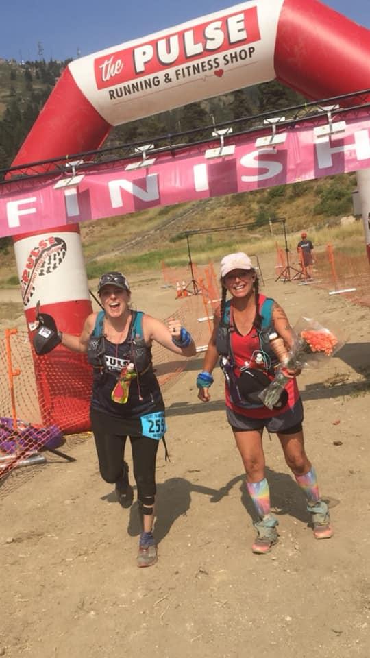 Kelli Crocker, Barb Nary - Resort to Rock 50K