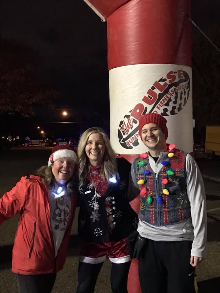 Lisa Donnellon, Kathy Parks, Patrick Donnellon - Meridian Christmas Parade