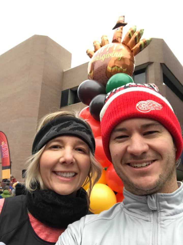 Lisa and Patrick Donnellon - Turkey Day 5K