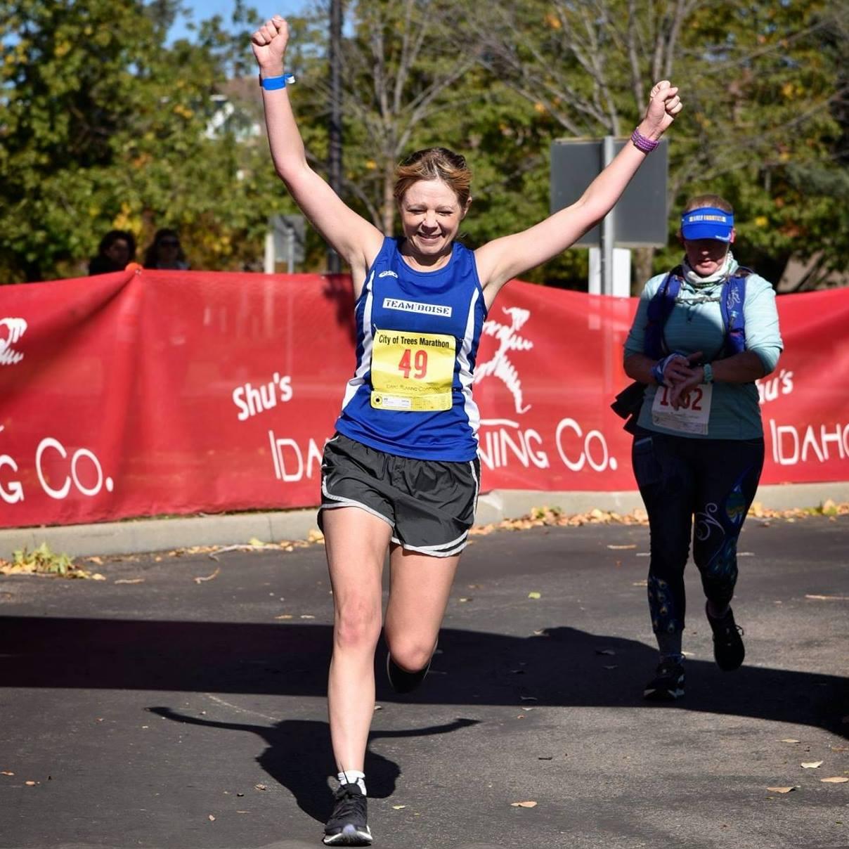 Michelle Heart - City of Trees Marathon