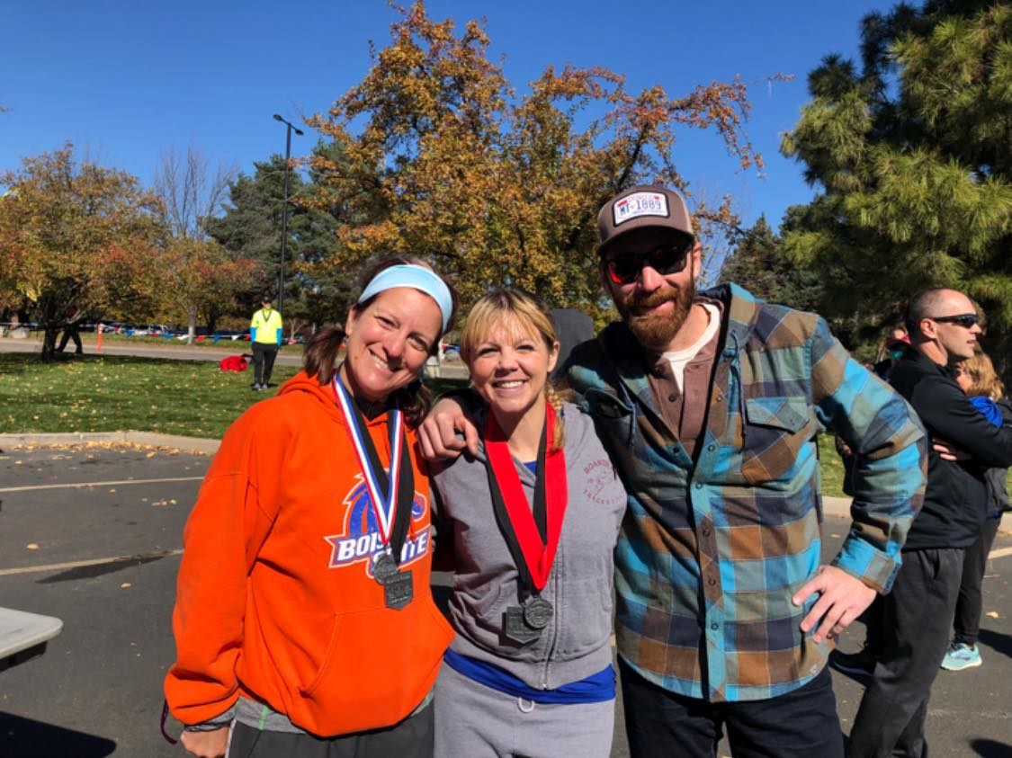 Kimberly Simmons, Michelle Heart, Ryan MULCahy - City of trees marathon