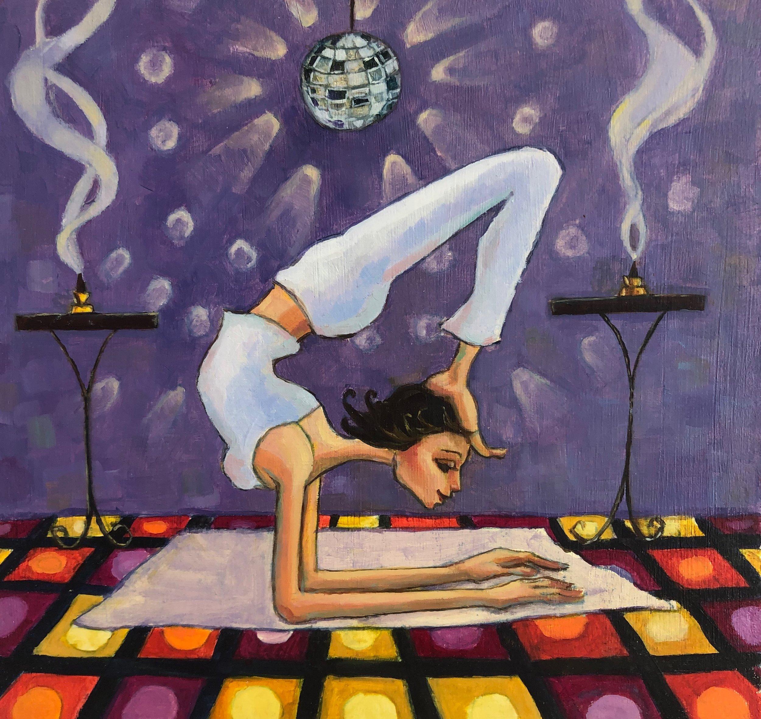Disco yoga.JPG