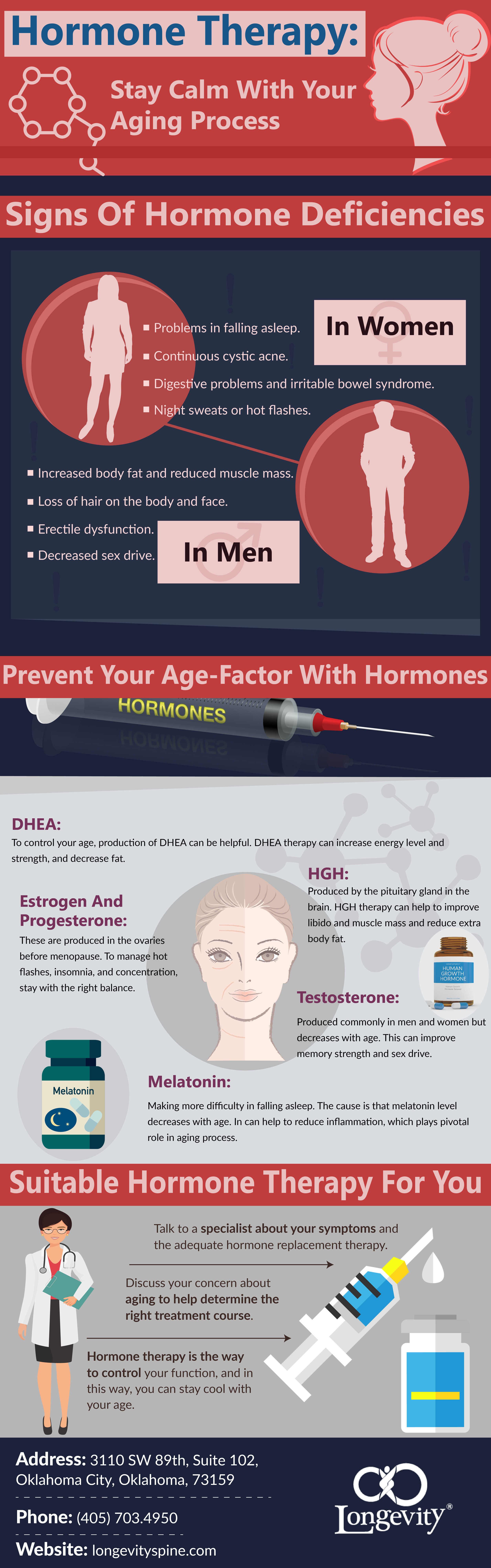 Hormone Therapy: Stay Calm With Your Aging Process