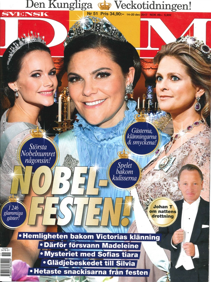JENNIFER BLOM - SVENSK DAMTIDNING NR 51/2018
