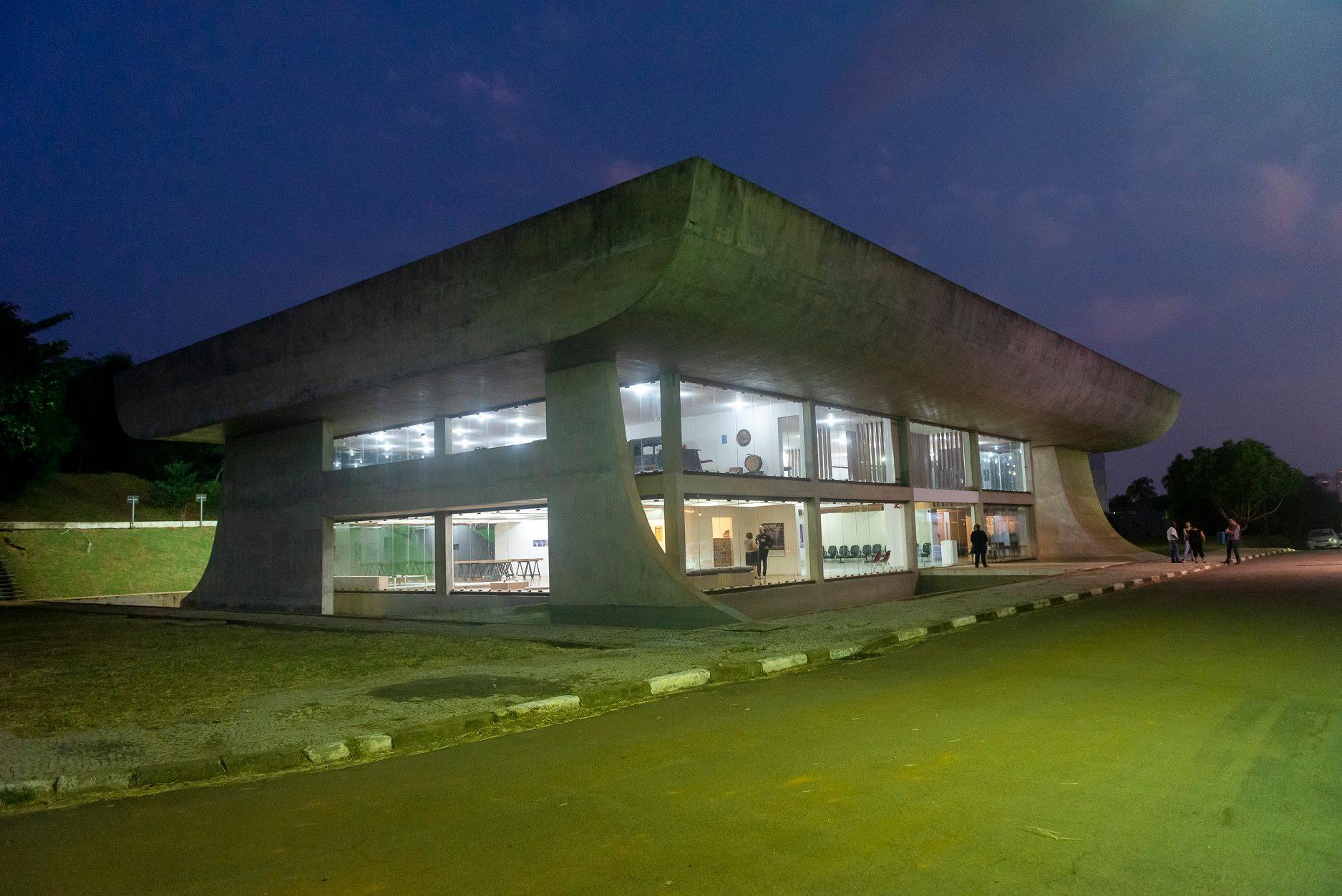 Casa de Vidro / Museu da Cidade de Campinas, Brazil.