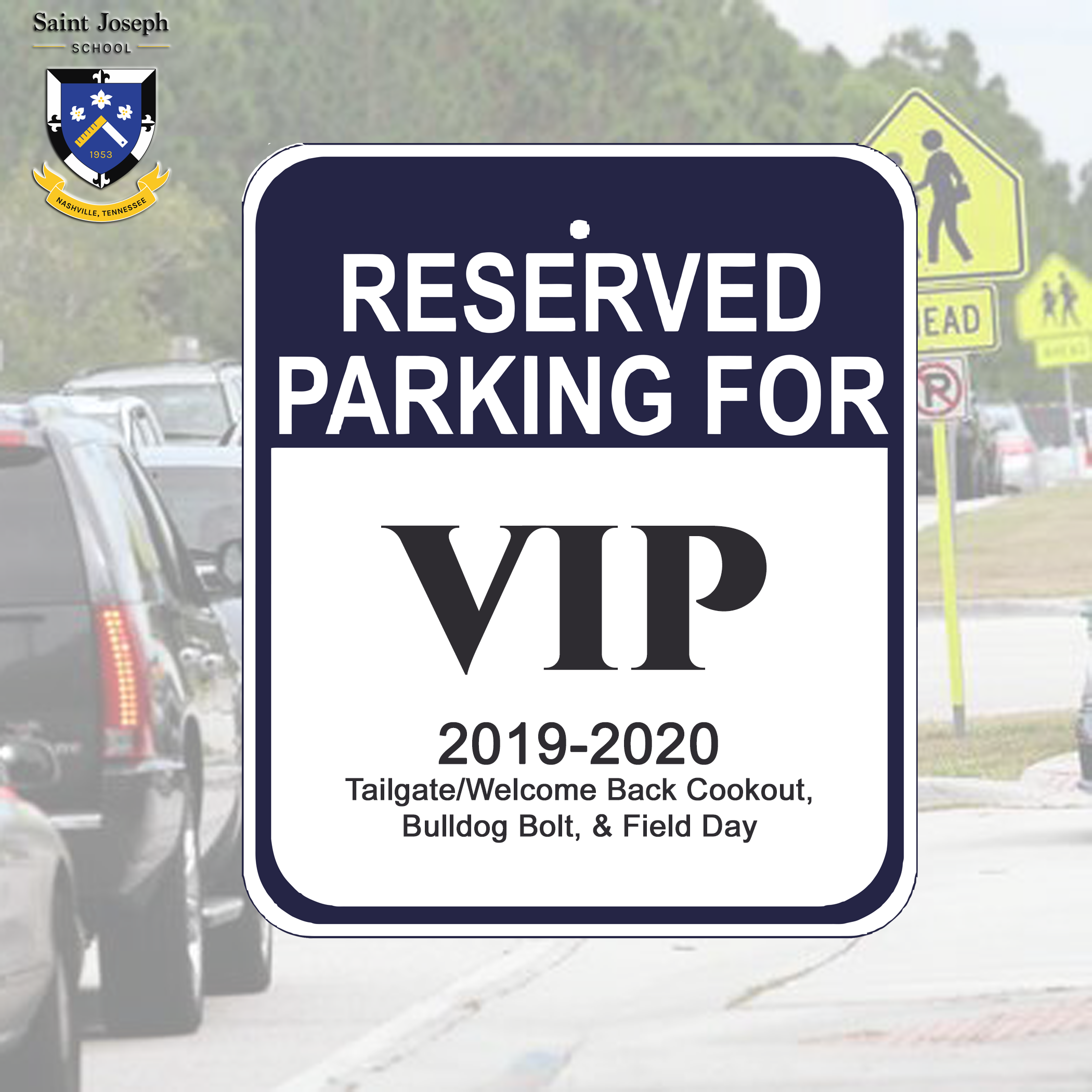 $100.00 - Reserved Parking for Welcome Back, Bulldog Bolt & Field Day