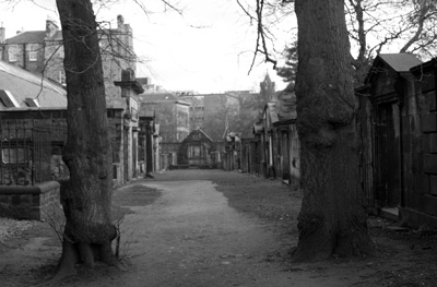 The Covenanters Prison at Greyfriars, where 1200 Coventers were tortured, starved and mutilated