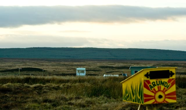 Caithness boggy landscape around Wick a favorite with new-age settlers