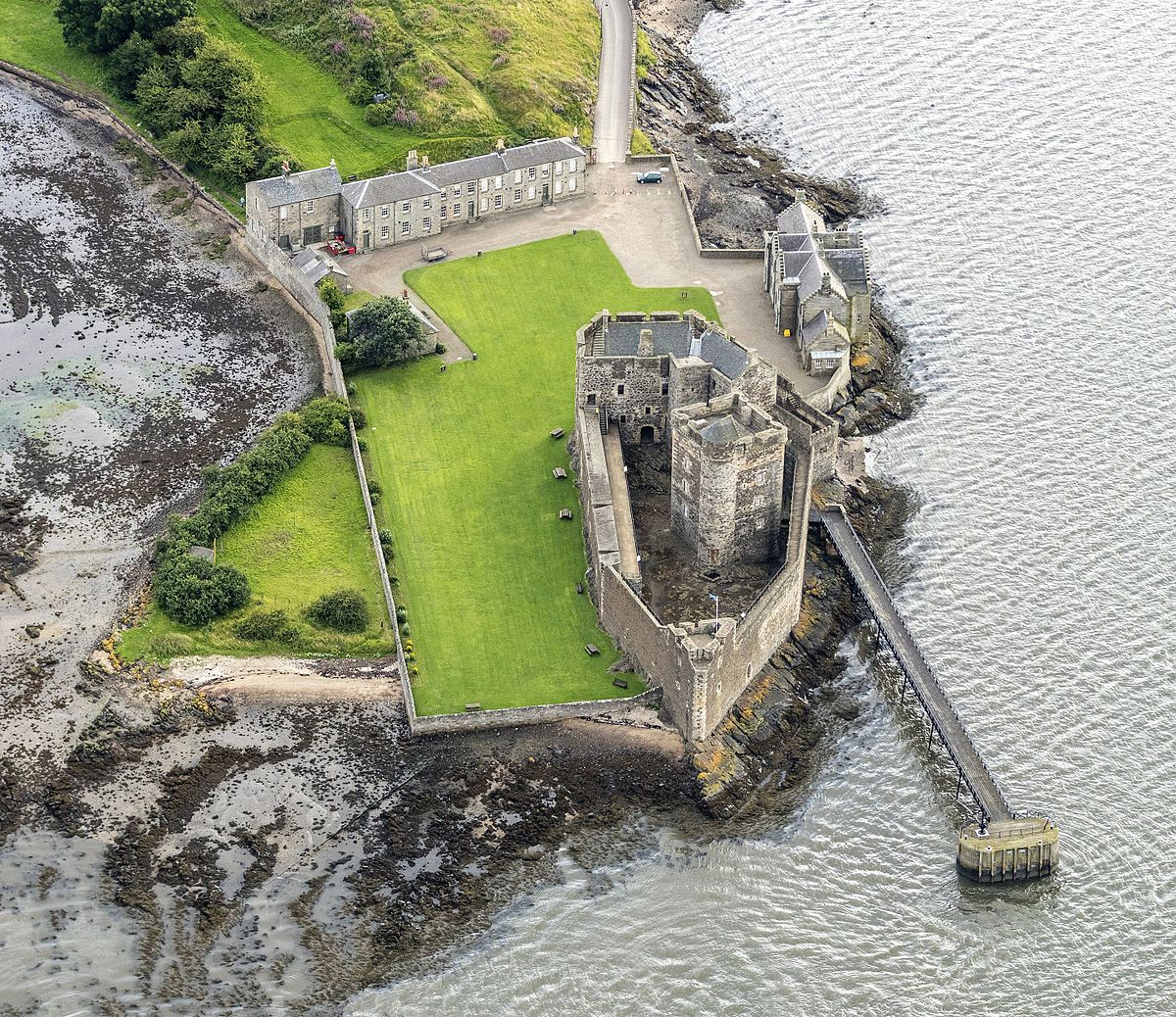 Blackness Castle aka Fort William where Jamie Fraser got flogged!
