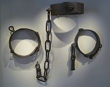Jougs    -  another form of torture and humiliation used by church and local authorities.