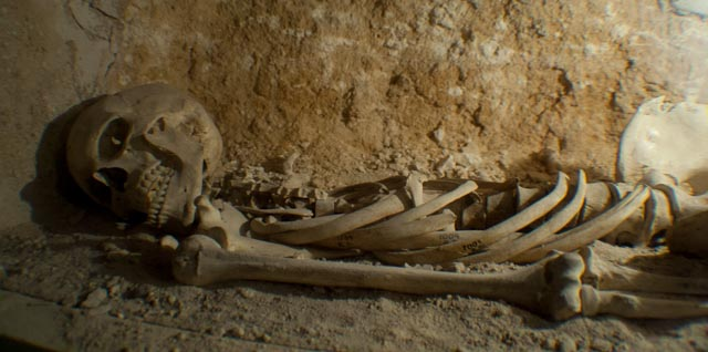 Catacombs skeleton