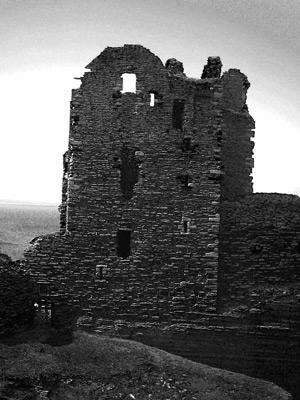 Castle Girnigo's evil ruins