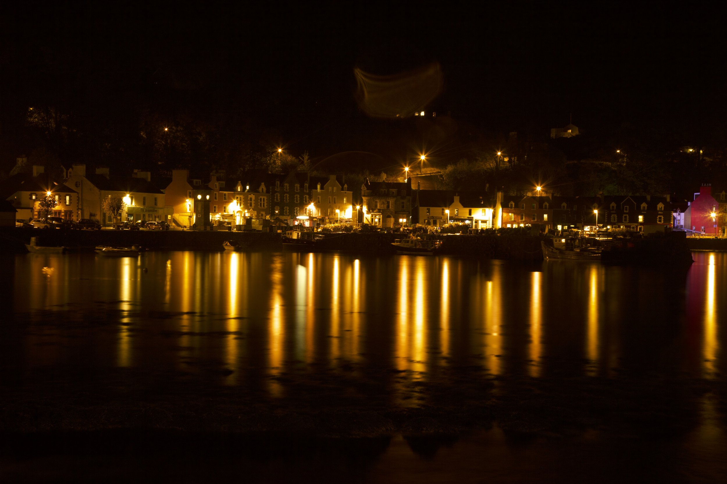 Tobermory Isle of Mull by Night