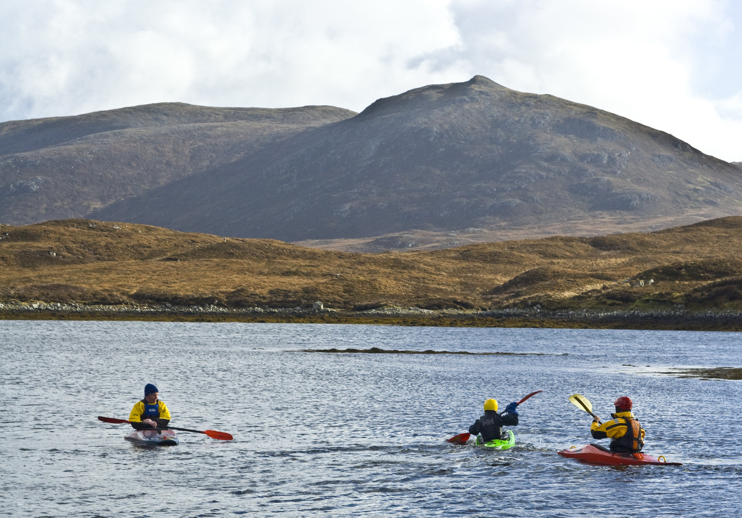 Kayaking the Western Isles