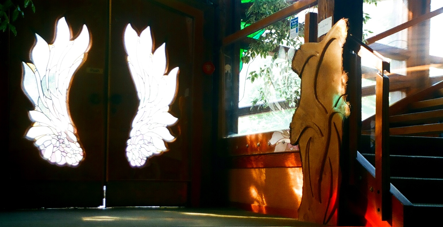 Findhorn+Universal+Hall+Angel+Wing+Doors