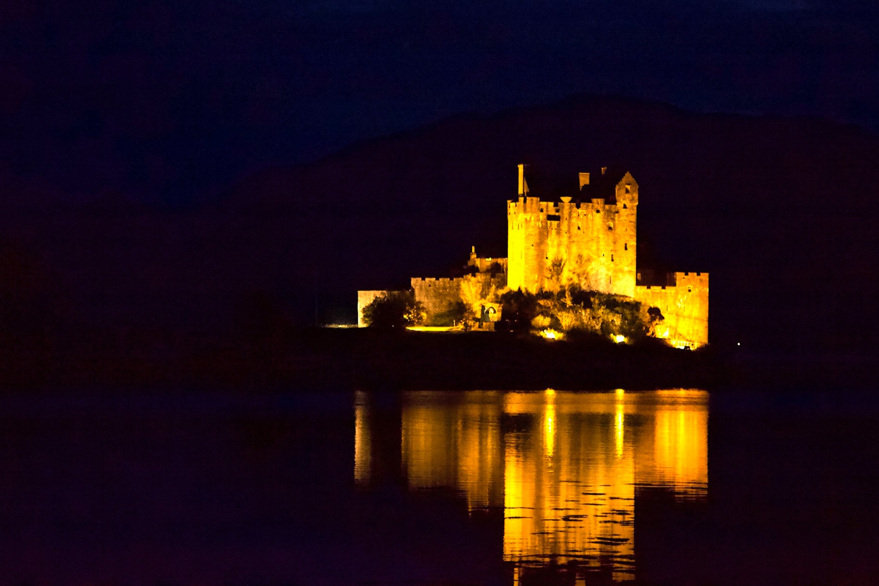 "Eileann Donan ""Highlander film!"" Castle on Loch Duich"