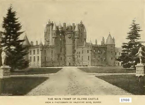Castle Glamis looks just like a Disneyland Castle…but it's  not