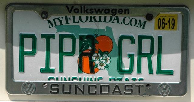 Piper Girl license plate (1 of 1).jpg
