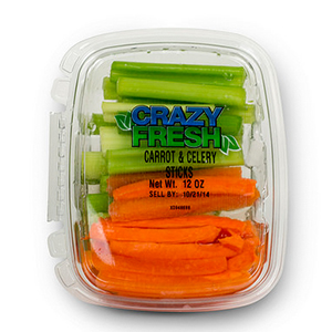 CARROT & CELERY STICKS - 12 OZ. — 82112