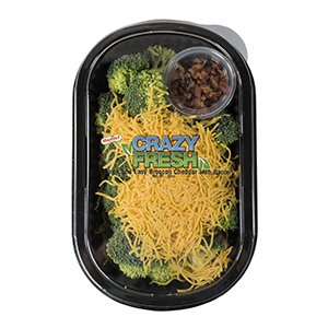 BROCCOLI WITH CHEDDAR & BACON - 12 OZ. — 81303