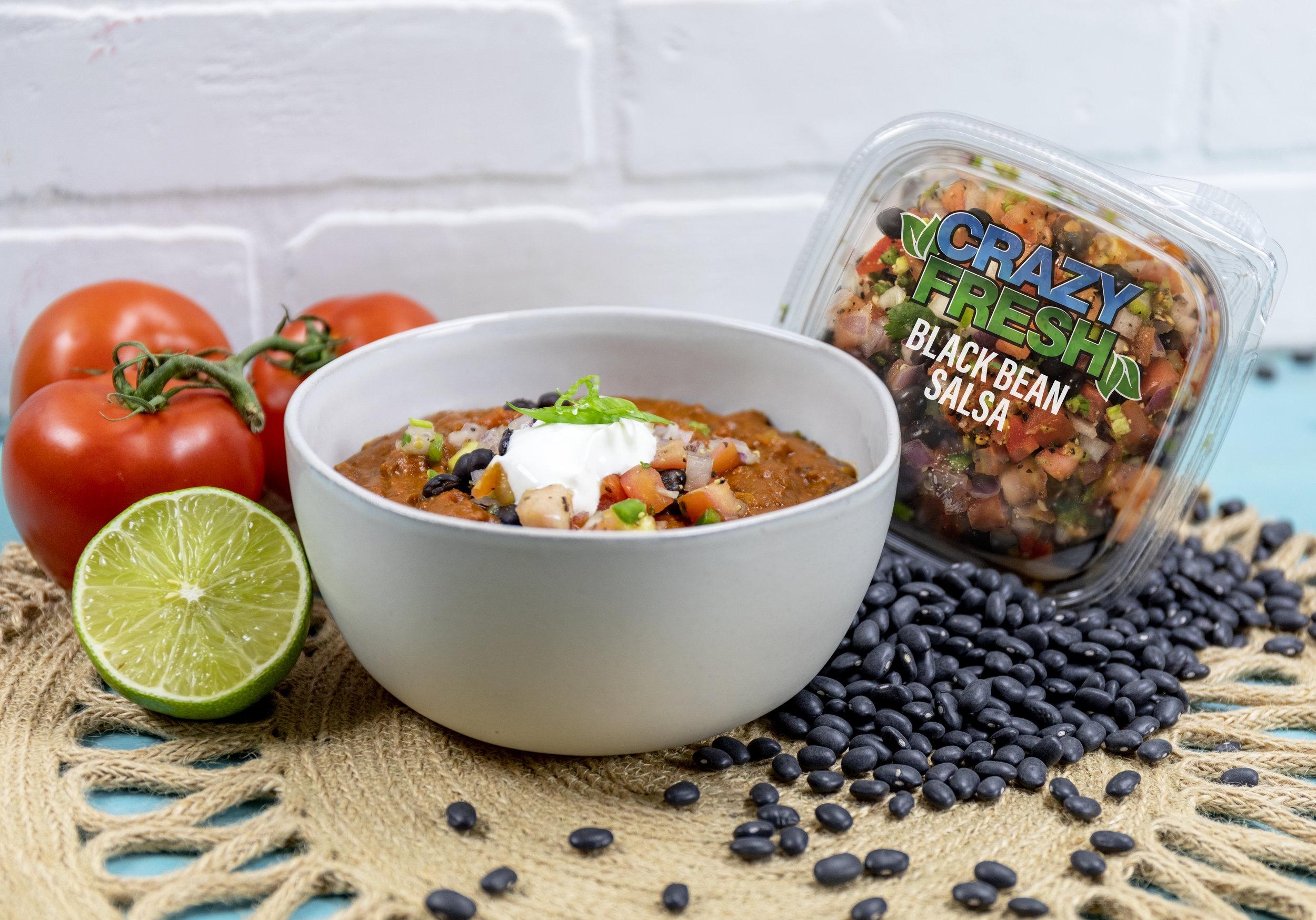 Black Bean Salsa Chili