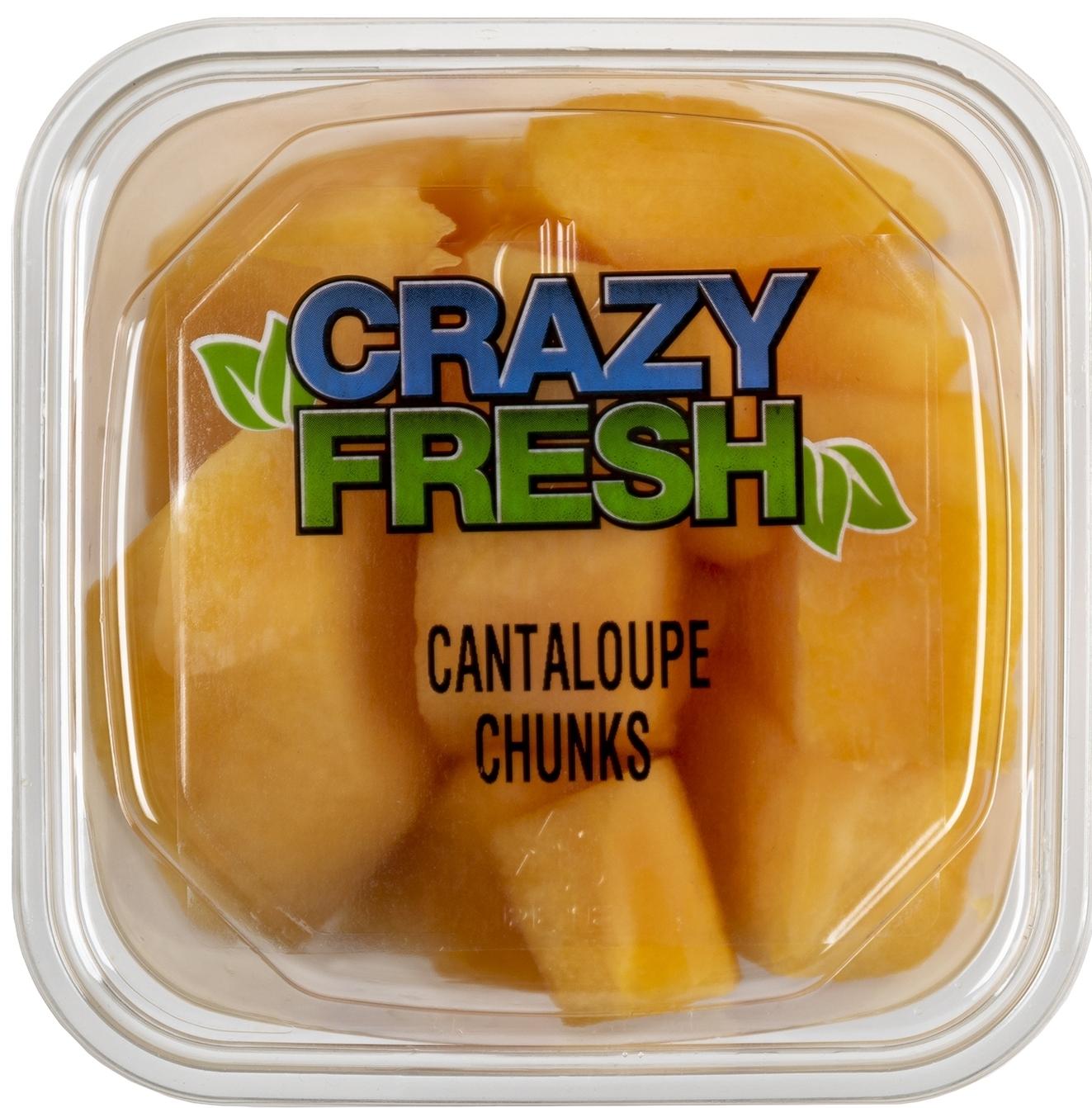 CANTALOUPE CHUNKS - 6 OZ. — 80010
