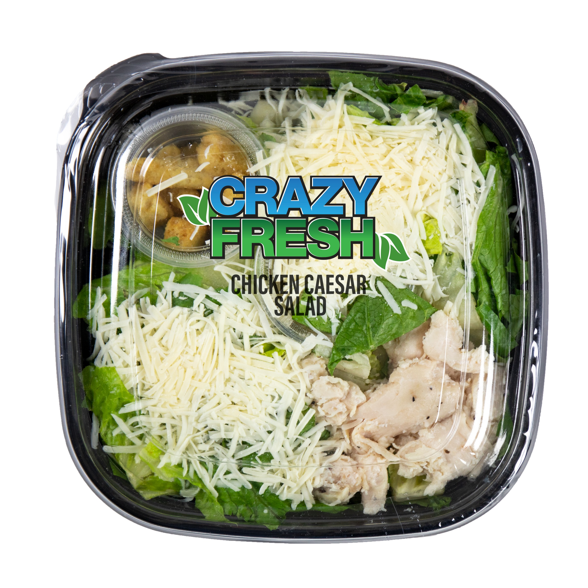 CHICKEN CAESAR SALAD - 10 OZ. — 81021