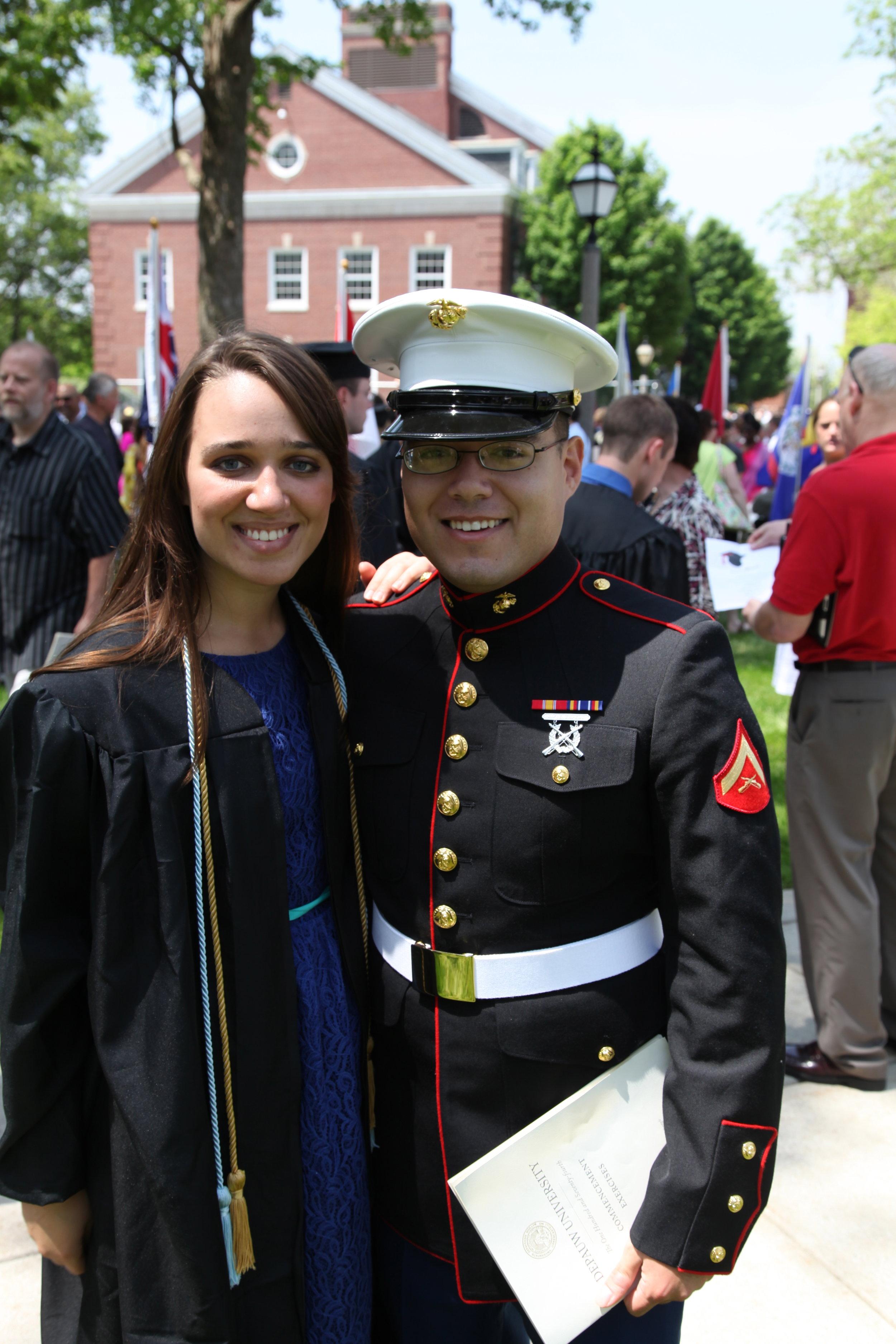 19 May 2013, DePauw University. Amanda's Graduation.