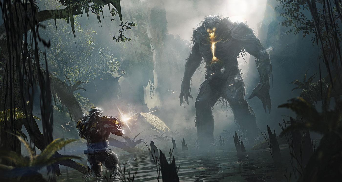 Anthem concept art.  Image Source: Gearnuke