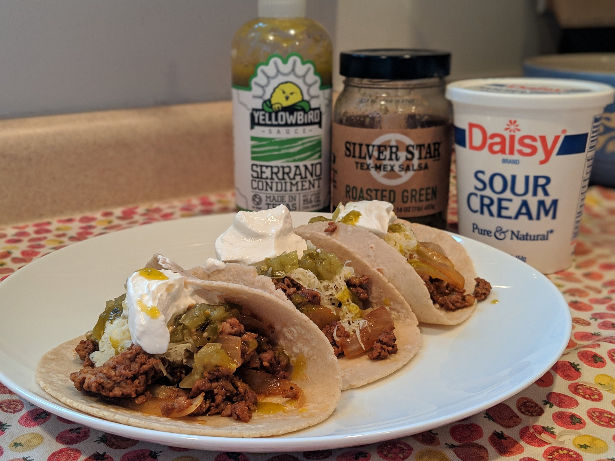 Our delicious taco recipe became a staple  really  quickly.