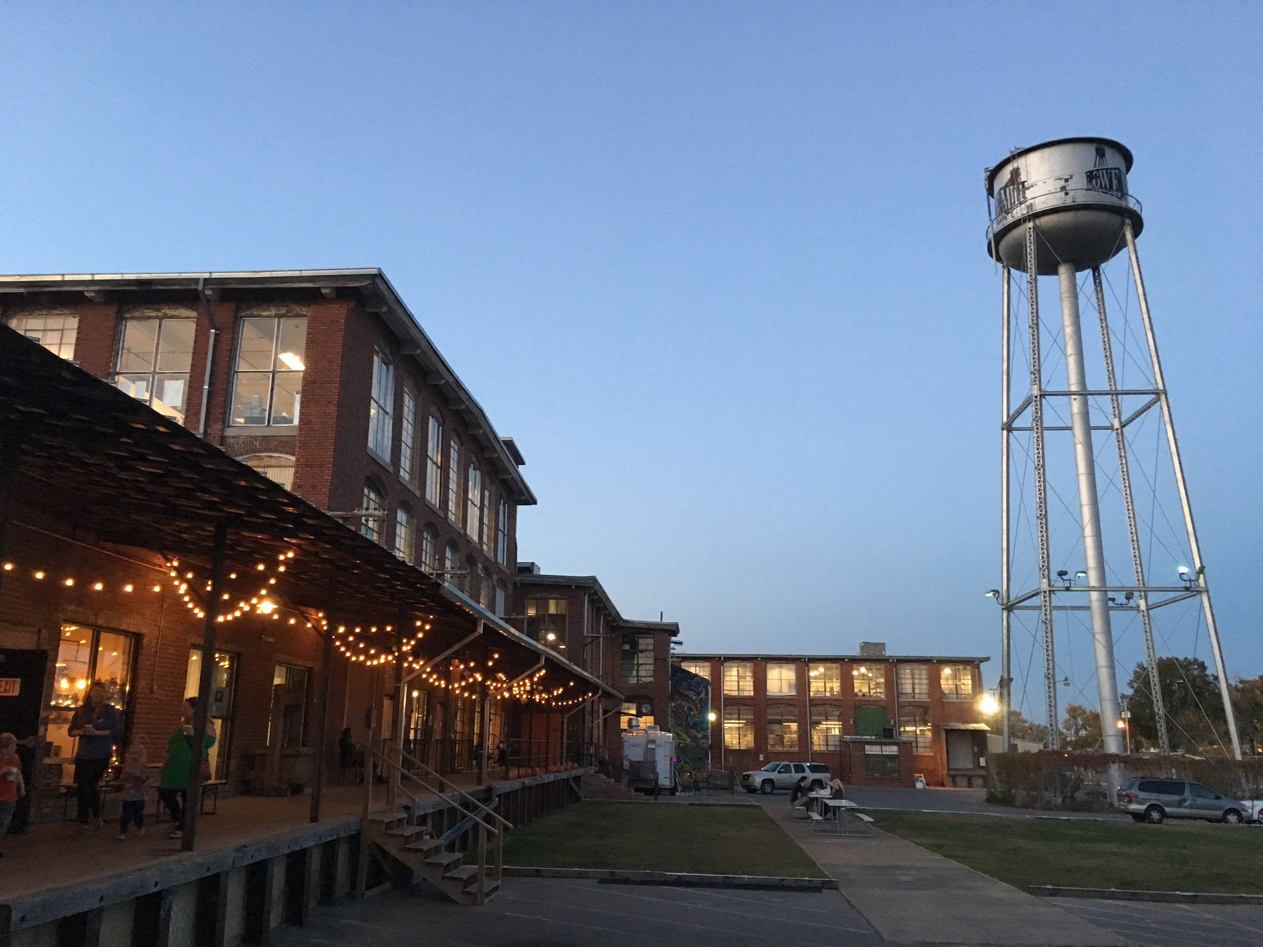 Lowe Mill Arts & Entertainment in Huntsville, Alabama, the largest privately owned arts collective in the US.