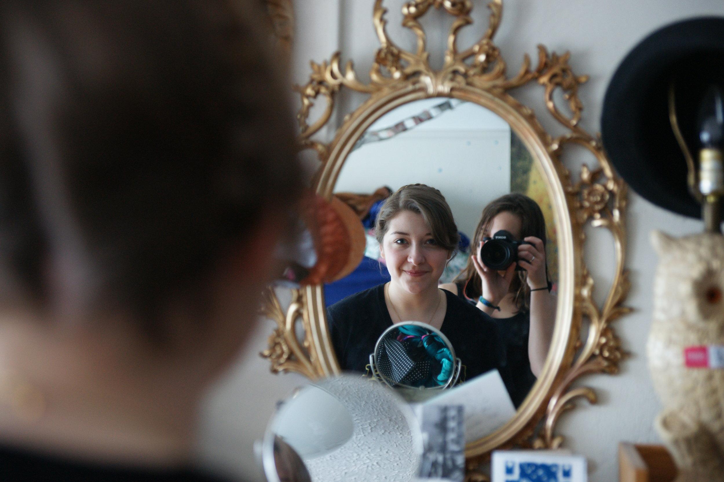 Mirror, mirror, Kelsey.