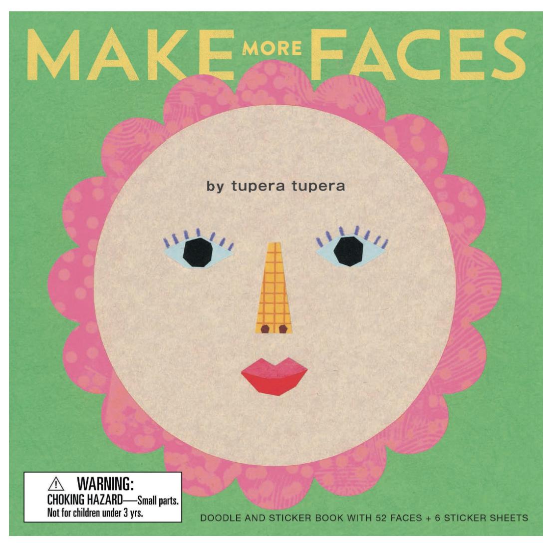Make More Faces Sticker Book
