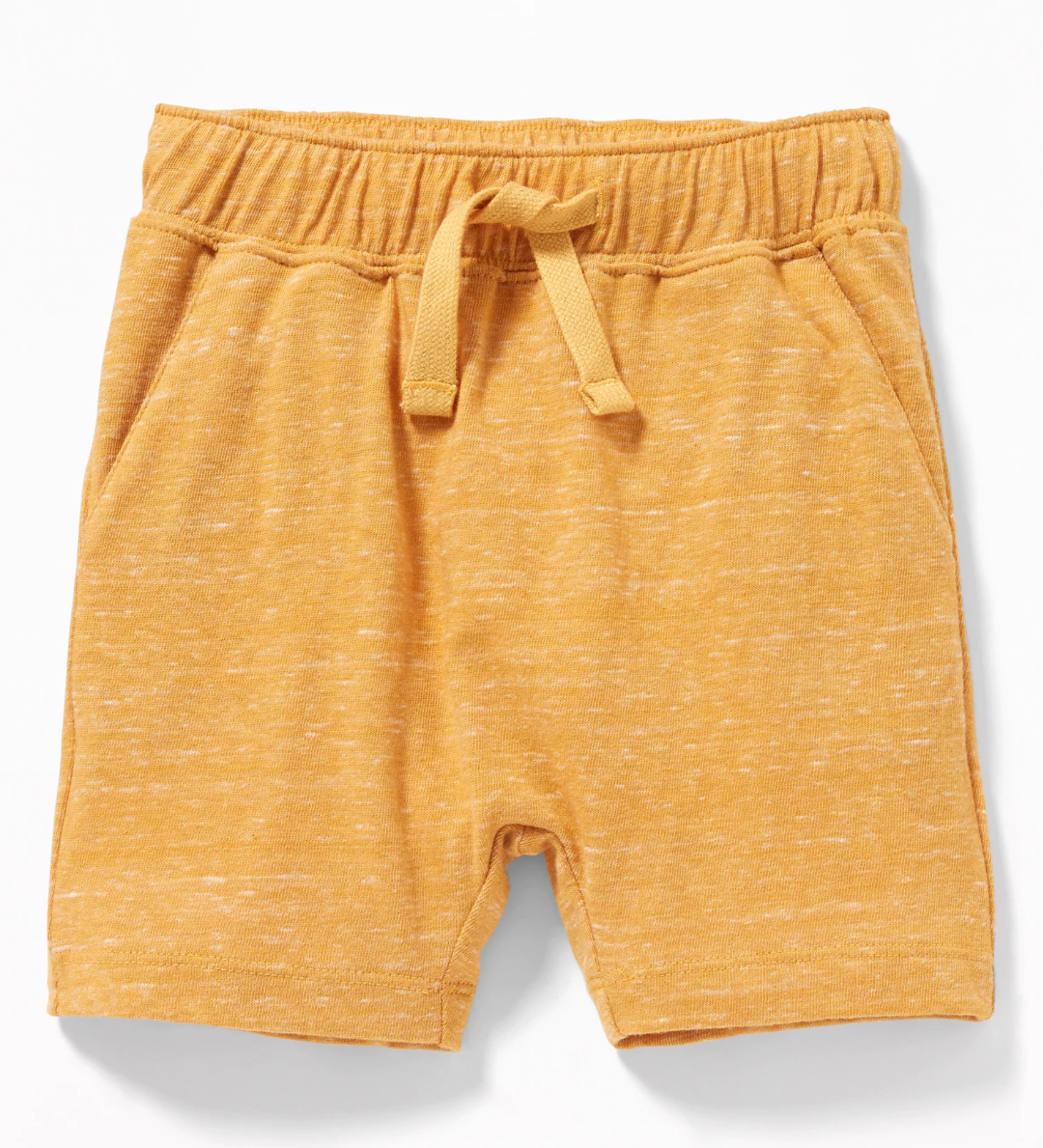 U-Shapes Shorts in Sunflower Gold