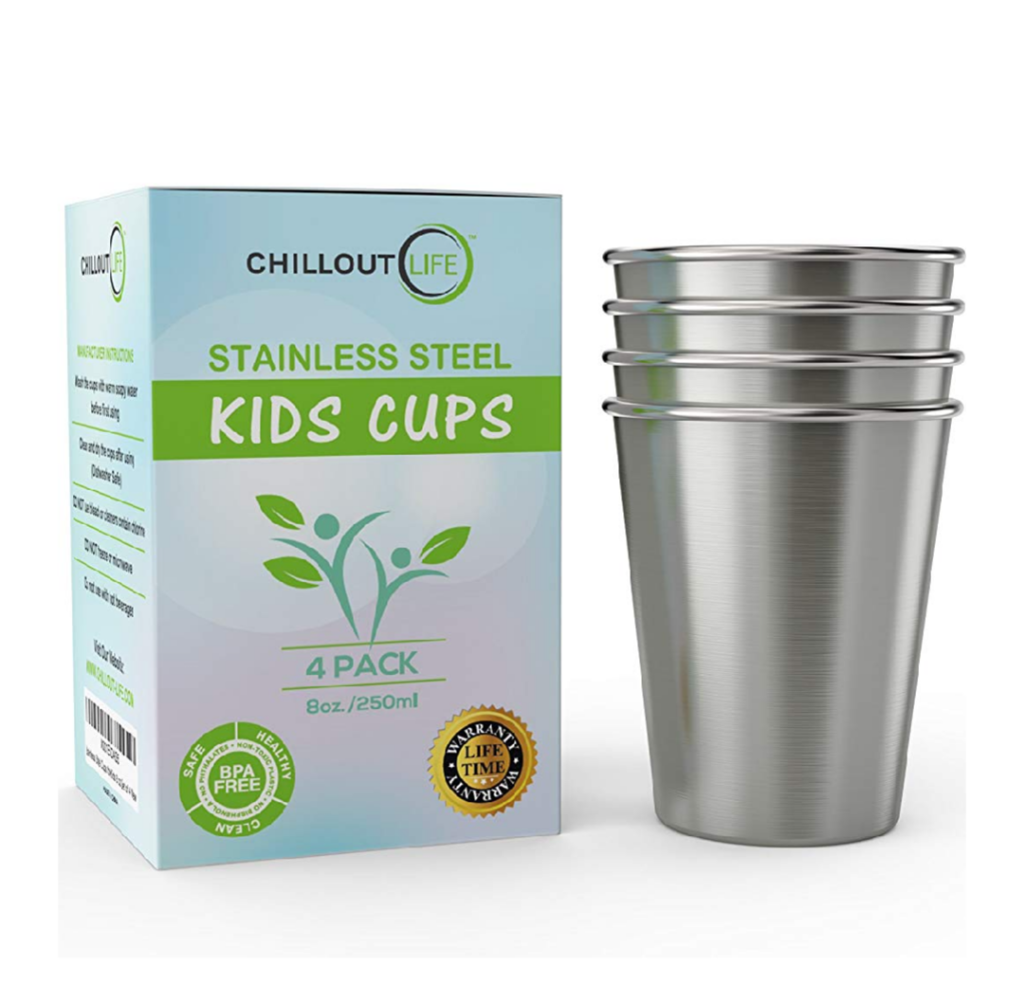 Stainless Steel Kid's Cups