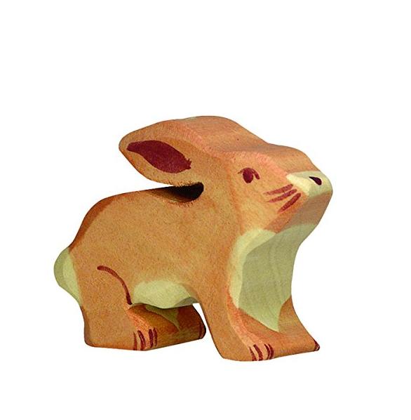 Holztiger Little Rabbit Toy Figure