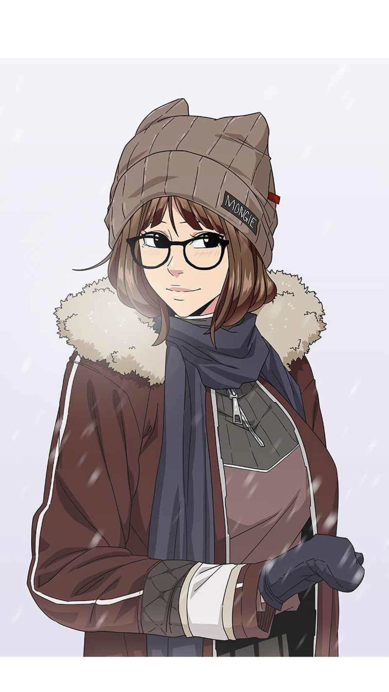 A screen capture from the Let's Play Webtoon by Mongie.