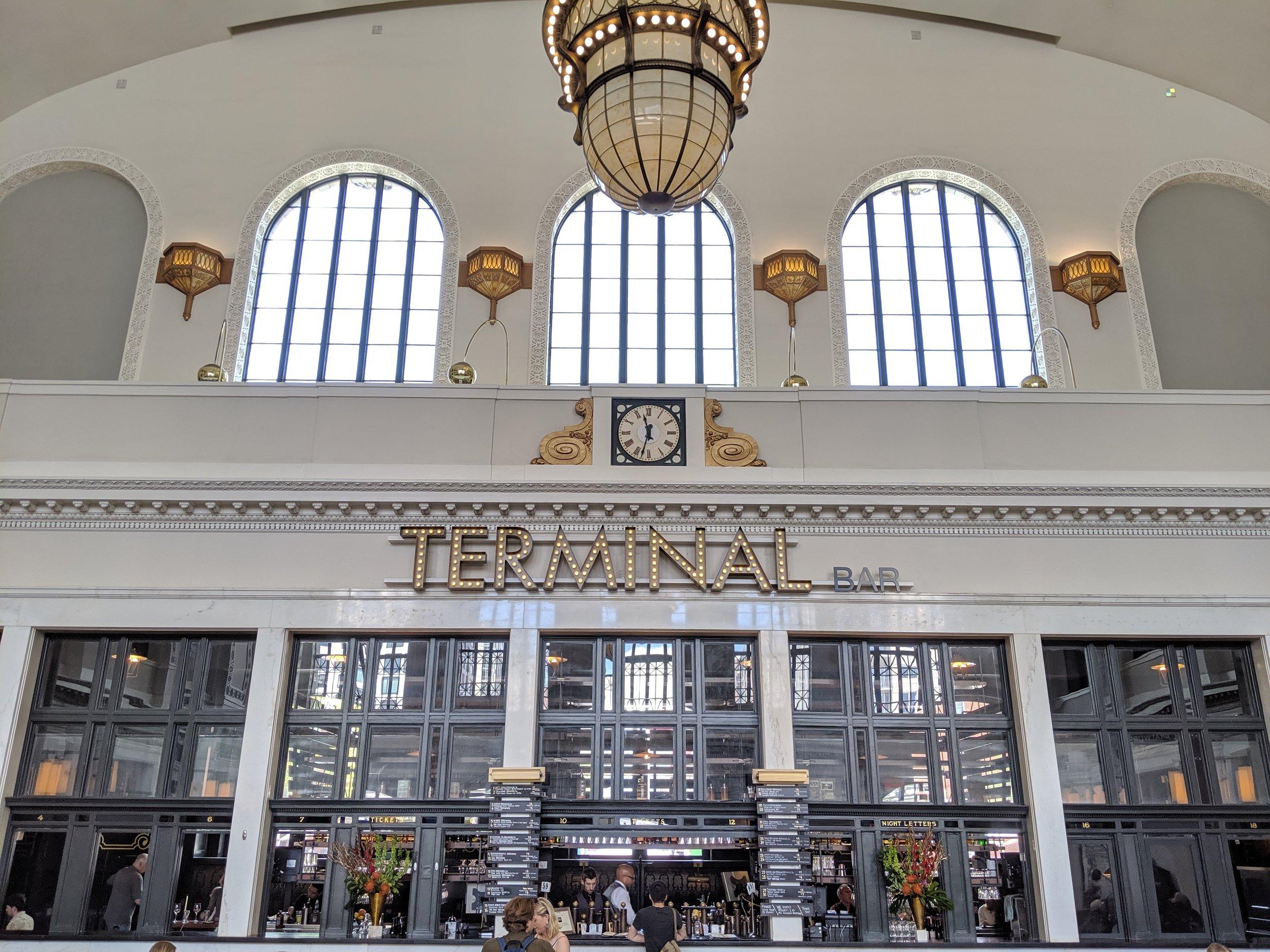 Terminal Bar inside Union Station, Denver.