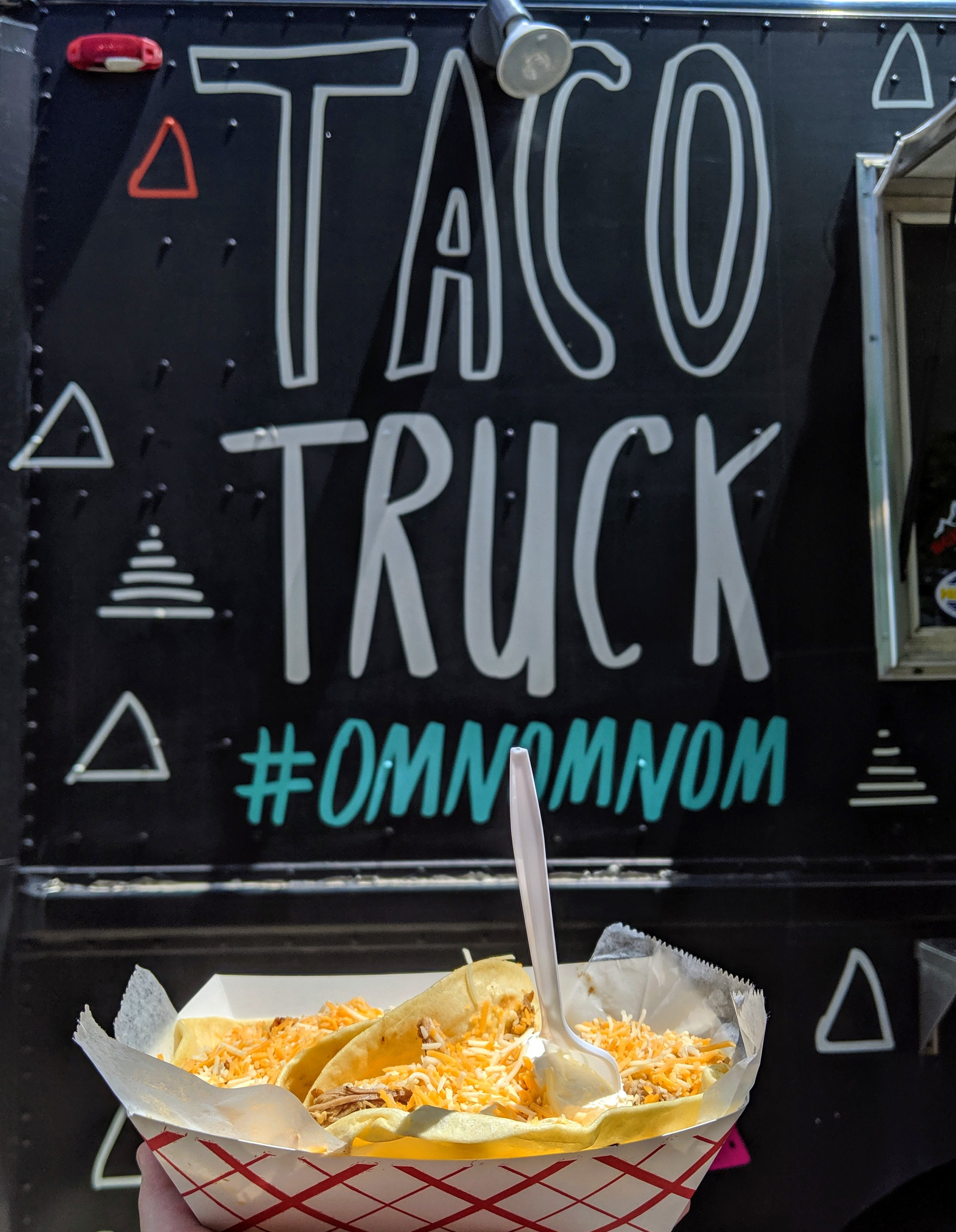Taco Truck at Taste of Fort Collins.