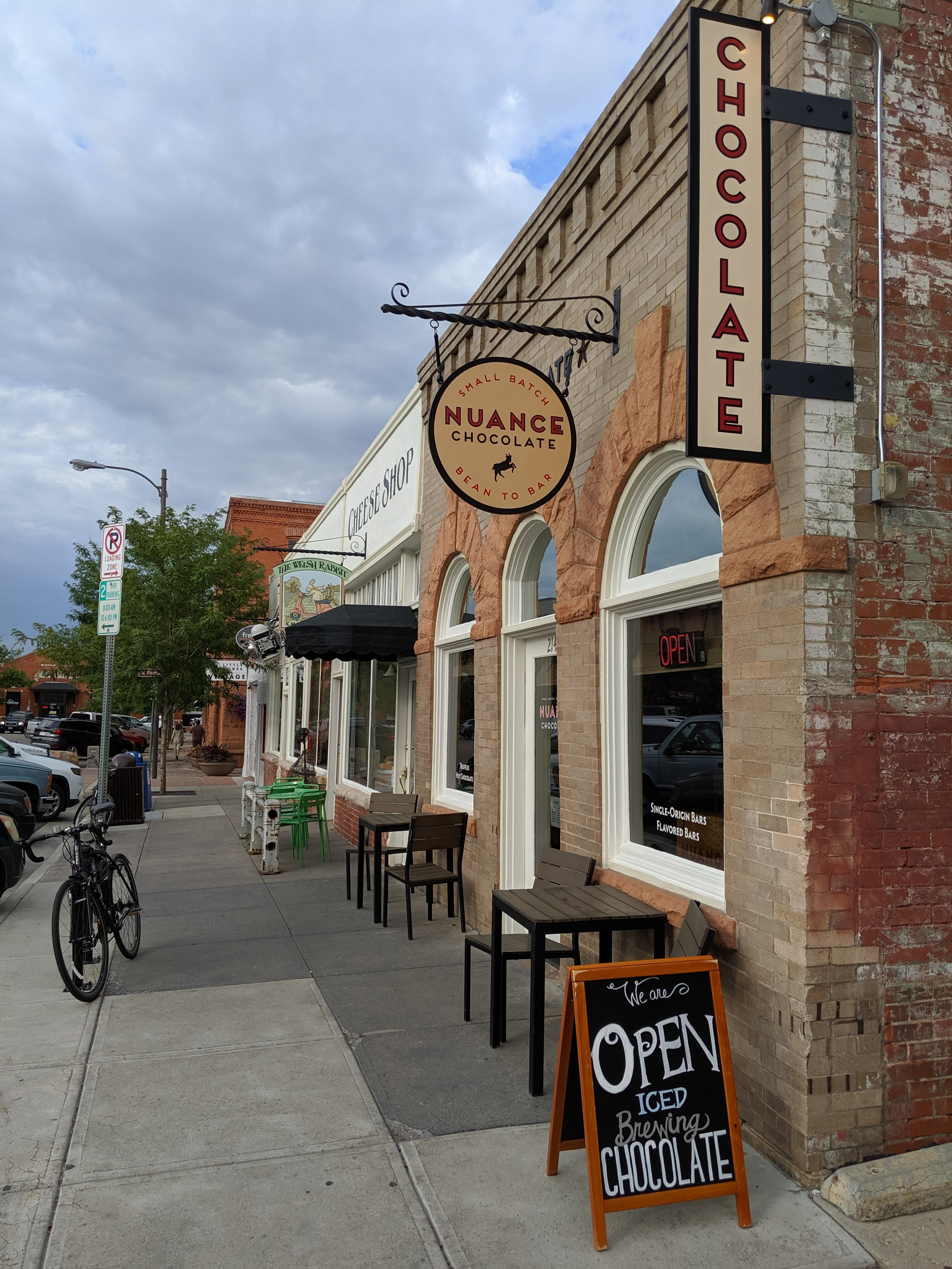 One of our new favorite places in Old Town Fort Collins, Colorado.