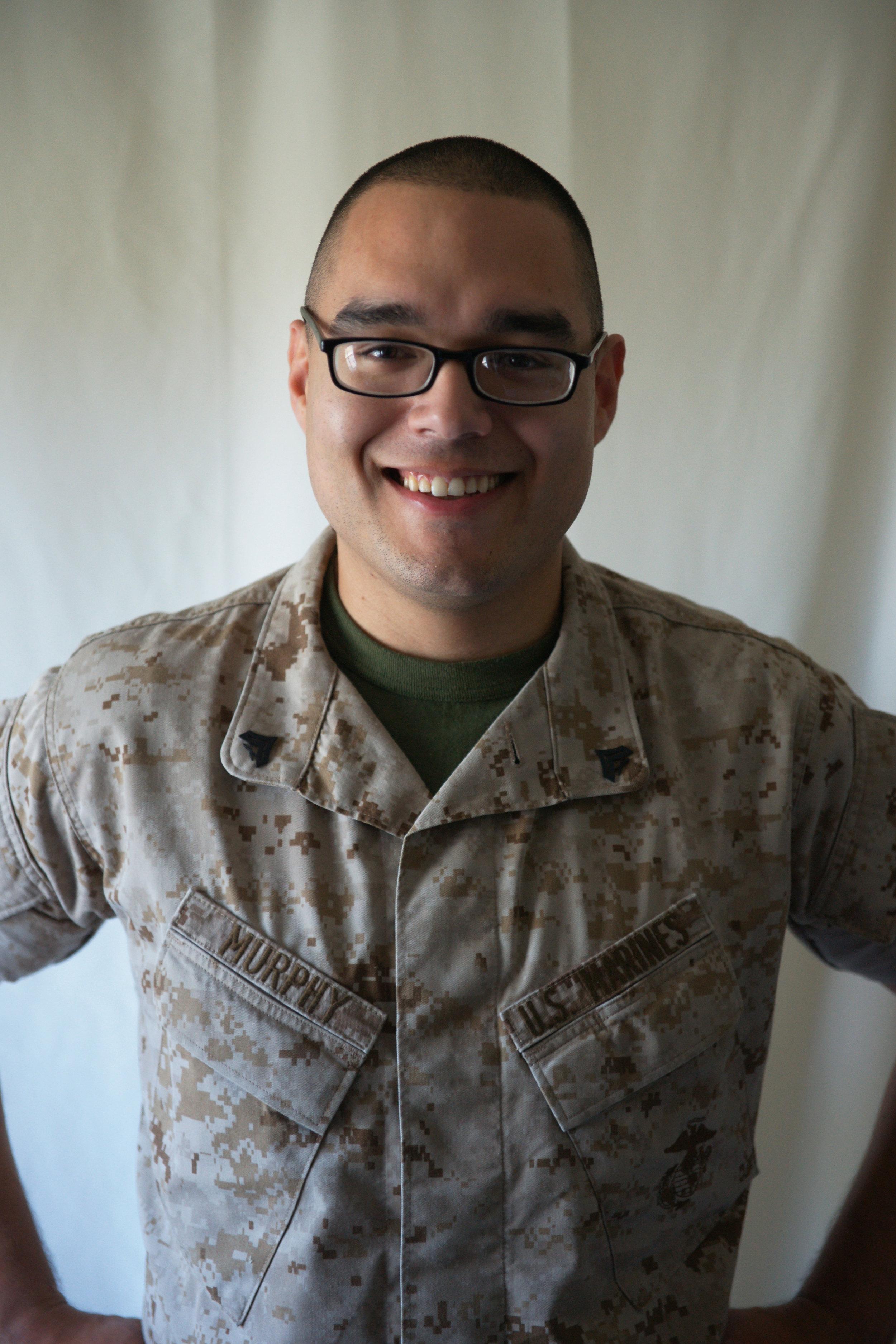 Ries' Marine Headshot