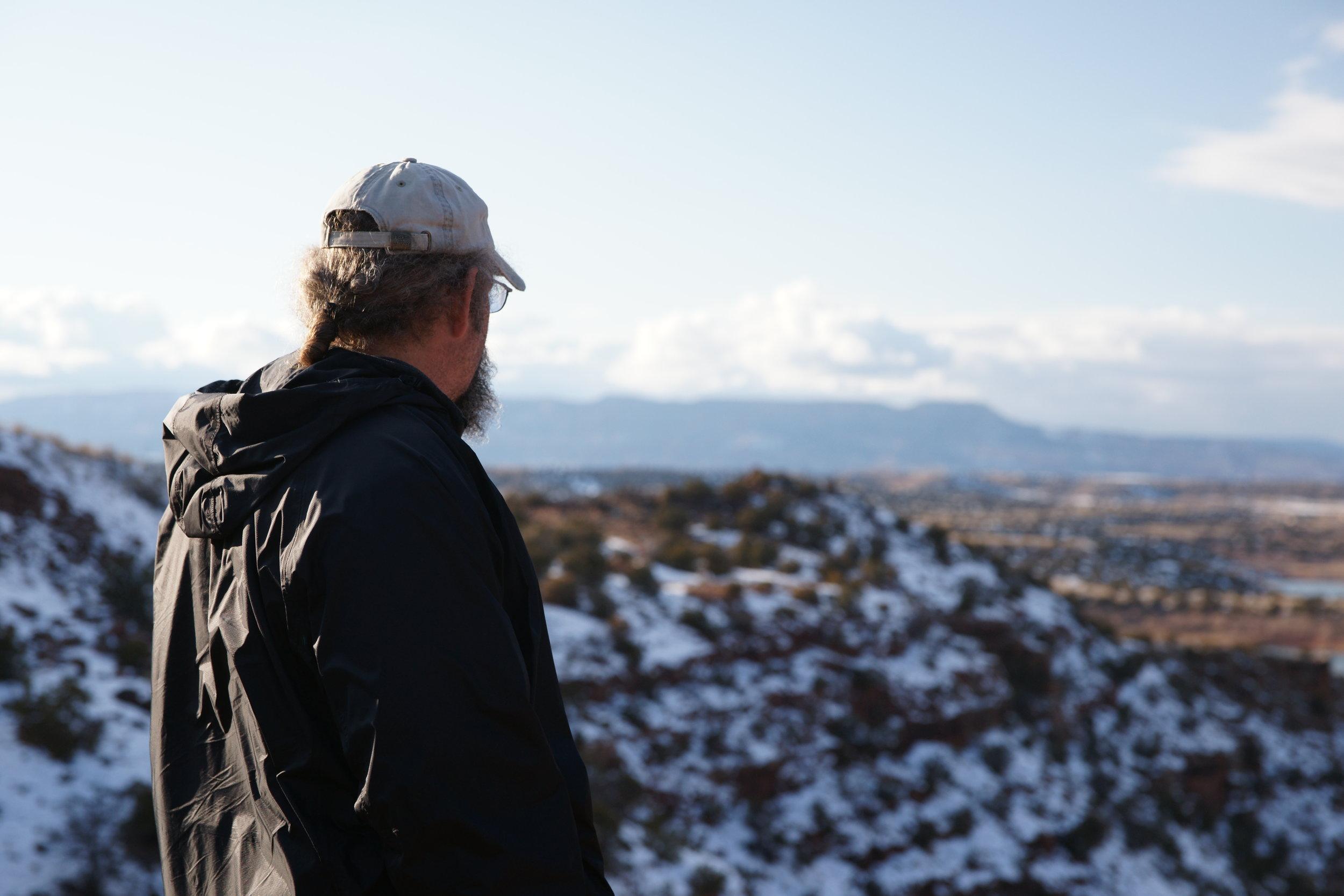 Steve on a Precipice