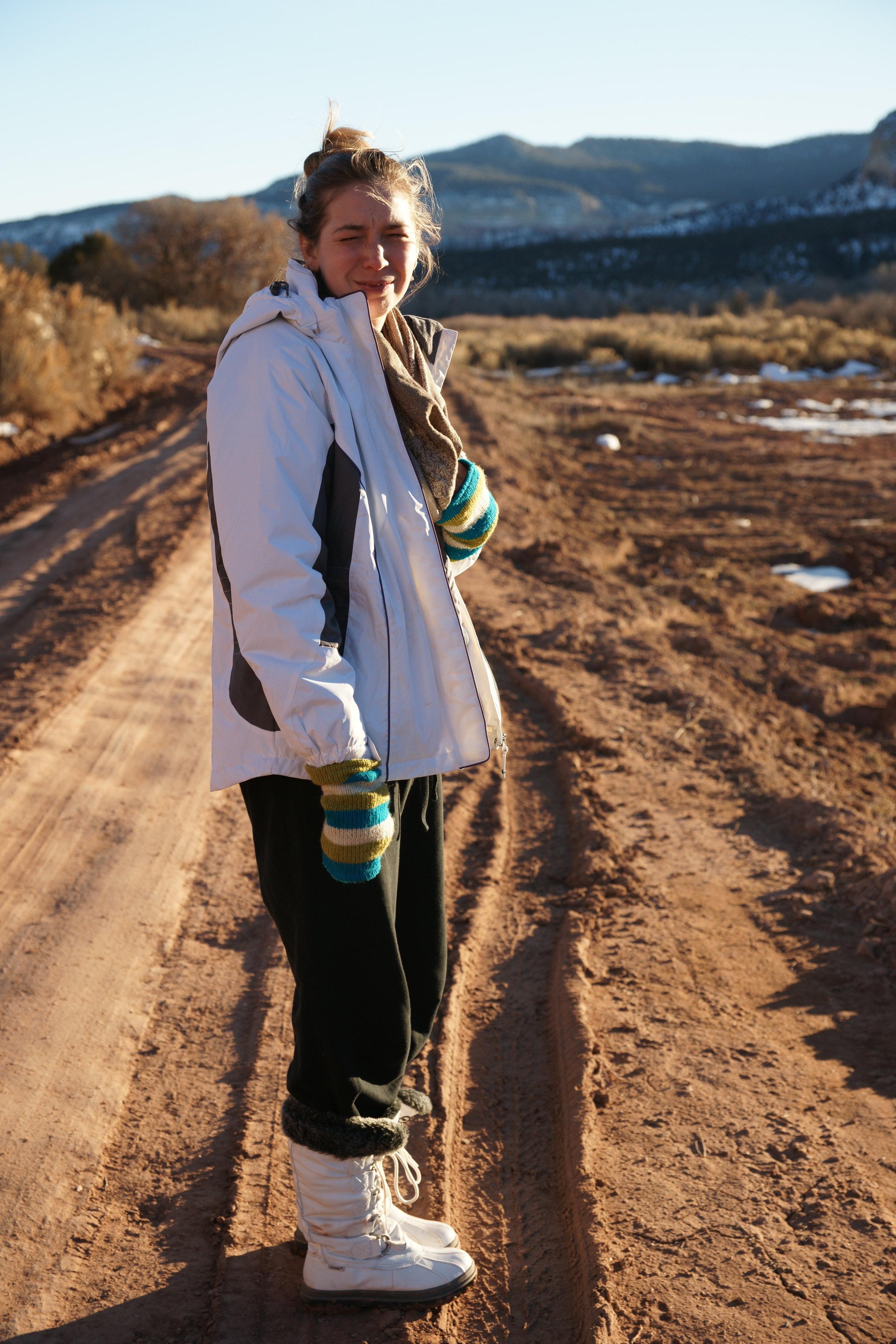 Kayla in the Desert